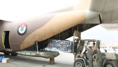 طائرة مساعدات أردنية إلى الصومال- (من المصدر)