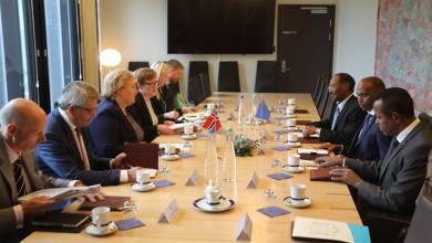 رئيسة الوزراء النرويجية