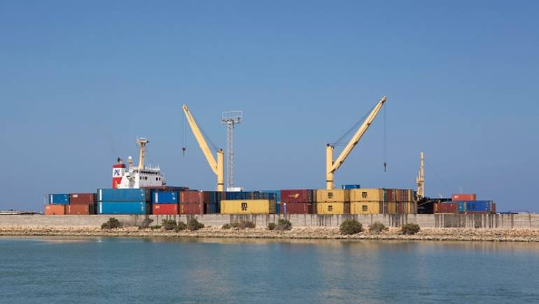 A picture taken on December 5, 2015 shows the Port of Berbera in Somaliland. The main exports from Somaliland are livestocks to the Gulf countries like Saudi Arabia, Dubai and Qatar. Somaliland is an internationally unrecognised nation-state in the Horn of Africa that declared independence from Somalia in 1991. / AFP / ZACHARIAS ABUBEKER        (Photo credit should read ZACHARIAS ABUBEKER/AFP/Getty Images)