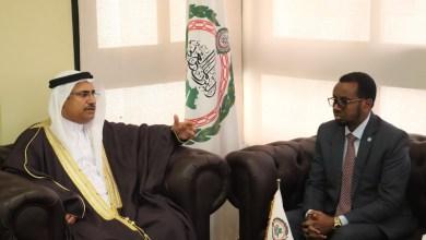 رئيس البرلمان العربي لوفد من جمهورية الصومال (2) (1)
