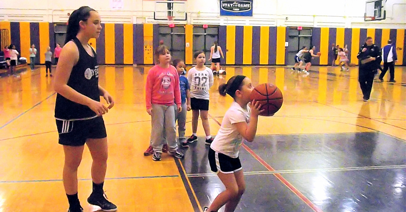 Lady Rams hold 16th annual basketball clinic