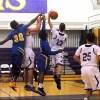 Running Rams basketball break three game skid, top Maginn on senior night