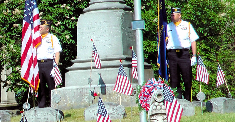 Memorial Day 2016 at Green Hill Cemetery (gallery)