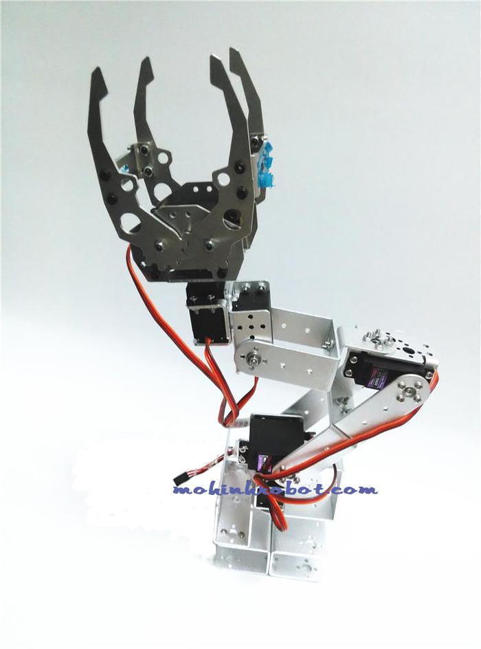 Cánh tay robot bậc tự do cl móng vuốt một mô hình hoàn hảo