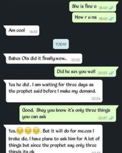 Na Wa O! See The Conversation Between These Two Desperate Ladies…