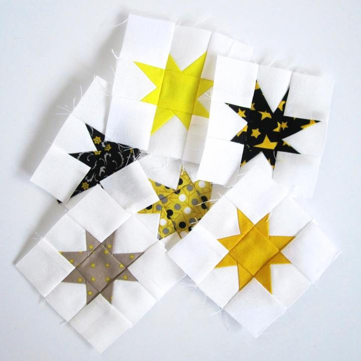 From the vault Wonky stars always sparkle and shine! quilting
