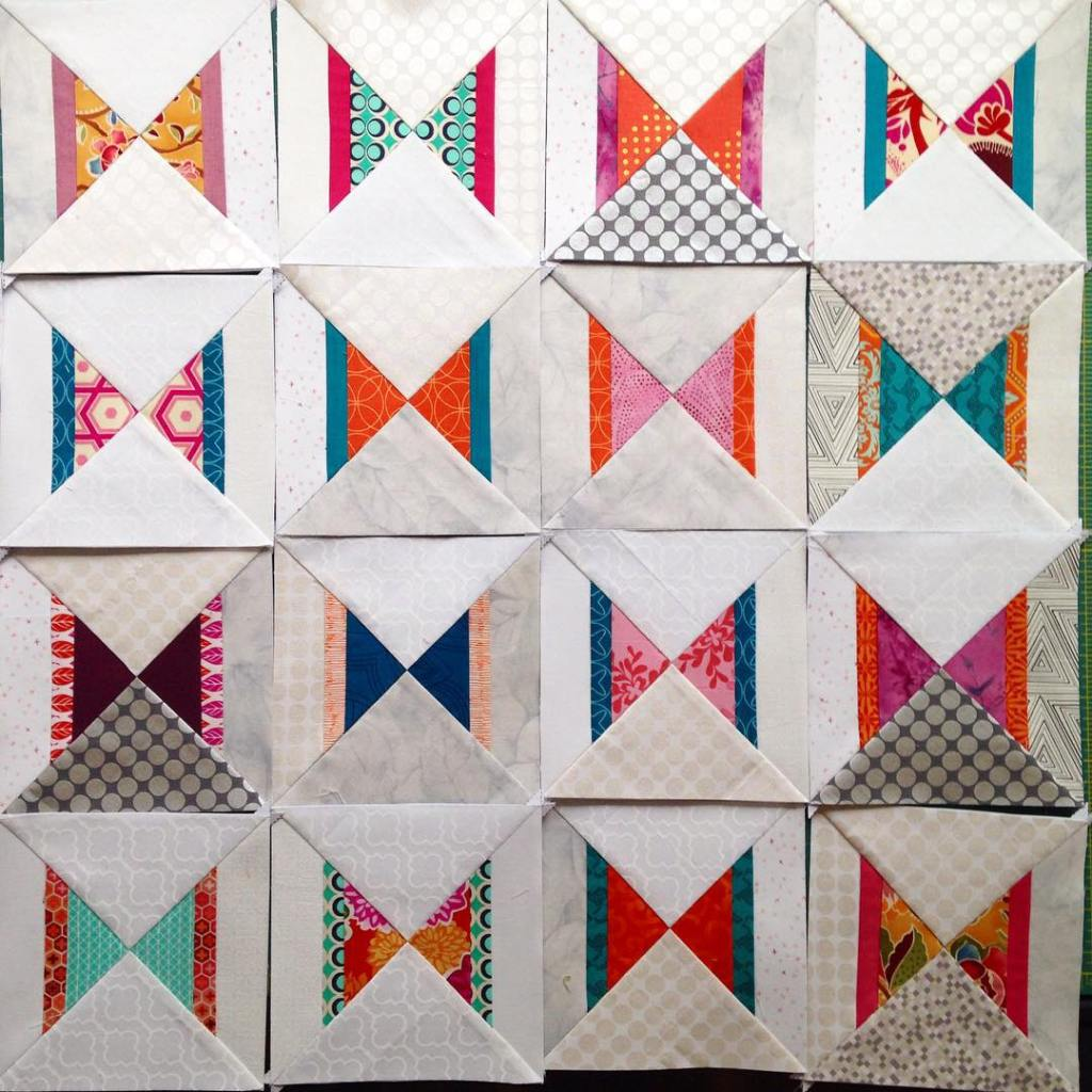 These modernbutterflyquilt blocks can now fly away to their newhellip