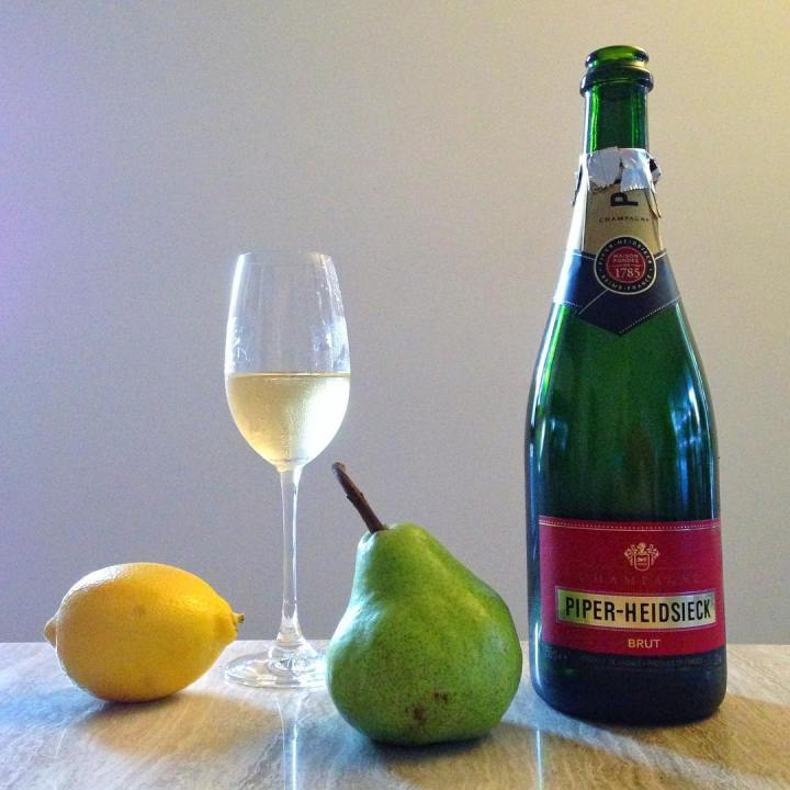 SillLife with Champagne and Fruits This could also be ahellip