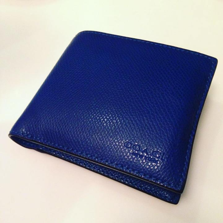 I am loving my new Coach wallet! Not much moneyhellip