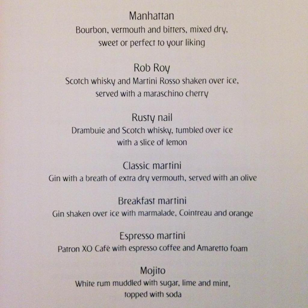 This is the COCKTAIL menu on my emirates flight fromhellip
