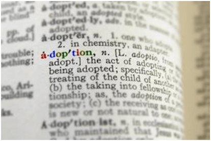 Adoption Definition