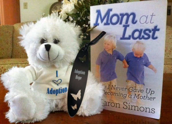 I Love Adoption Giveaway from Mom at Last