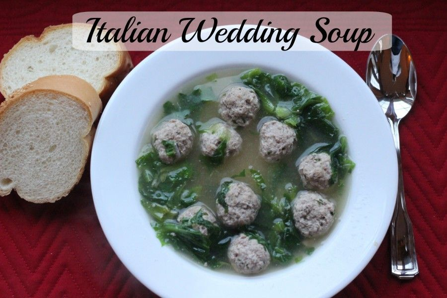 Italian Wedding Soup - Homemade! - Momcrieff