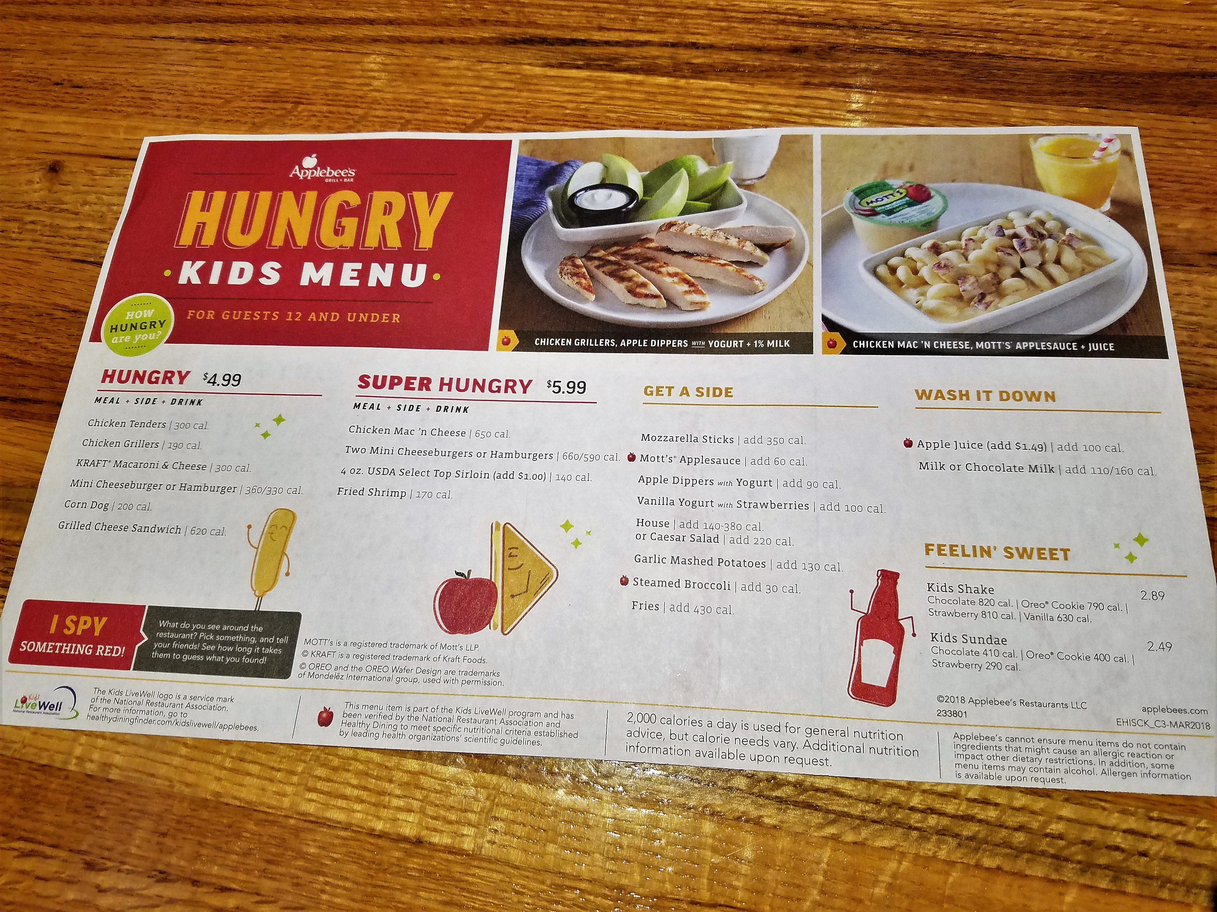 Idyllic Are Y Going To Enjoy Menu I Have To Say That Hasdone A Job Making Sure That Family Experience Issomething New Comfort Food Items At Your Neighborhood nice food Apple Bees Menu