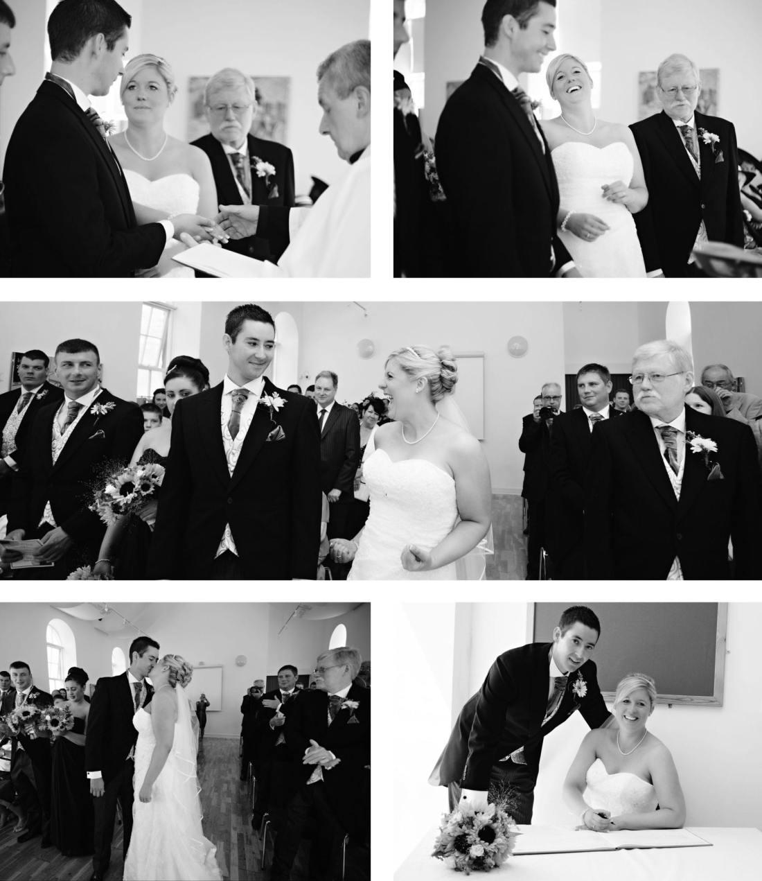 North Wales wedding - bride celebrating