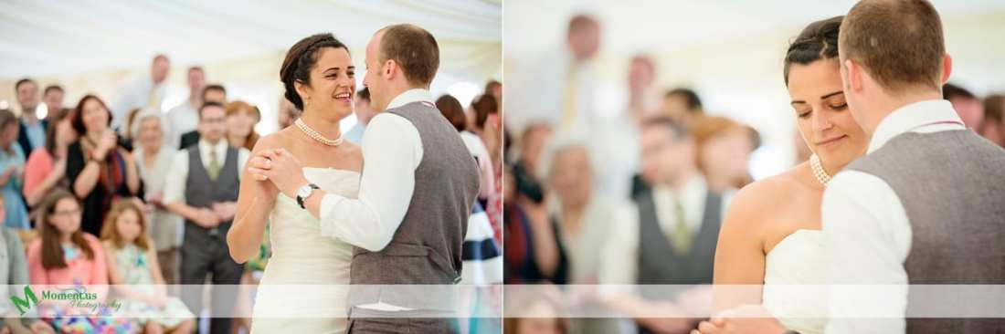 Fort Belan Wedding -  first dance
