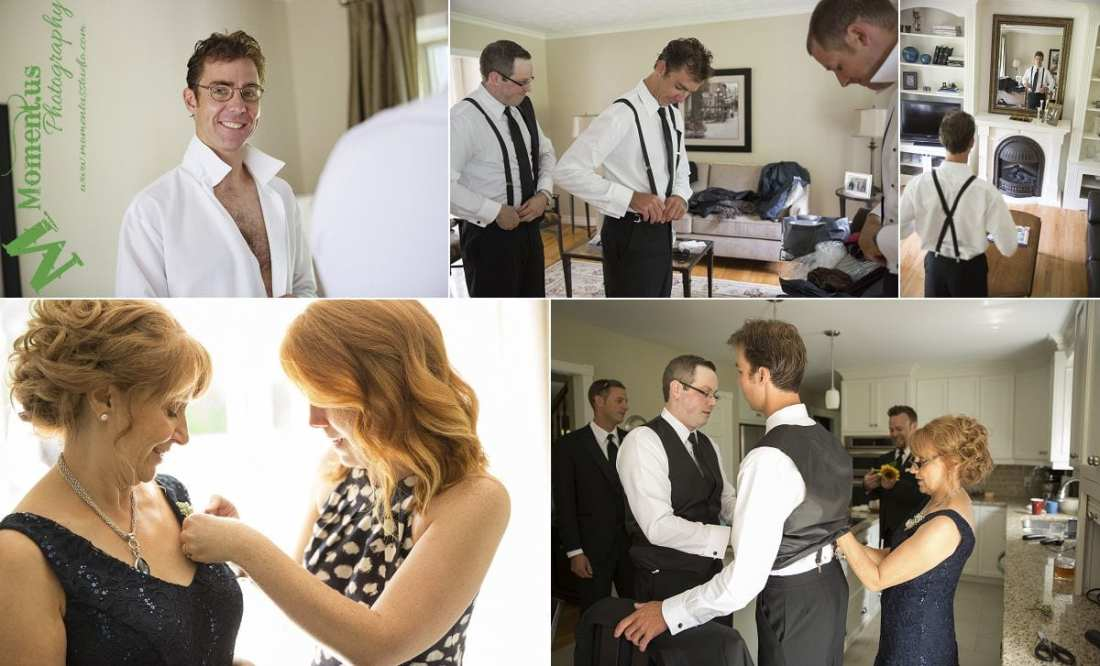 Williamstown Country Wedding - guys getting ready