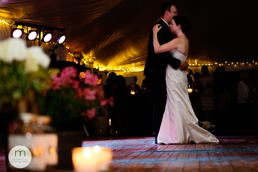 first dance with decor