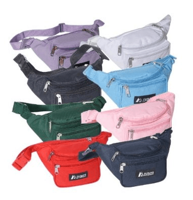 Alnaue Kids Waist Pack Preschool Children 3D Animal Cute Panda Waterproof Toddler Backpack. Sold by FastMedia. $ $ Above Elite Deluxe Running Belt: Best Reflective, Double Pouch Fanny Waist Pack Fits iPhone 6 Plus and All Smartphones, Water Resistant - Sold by zabiva.