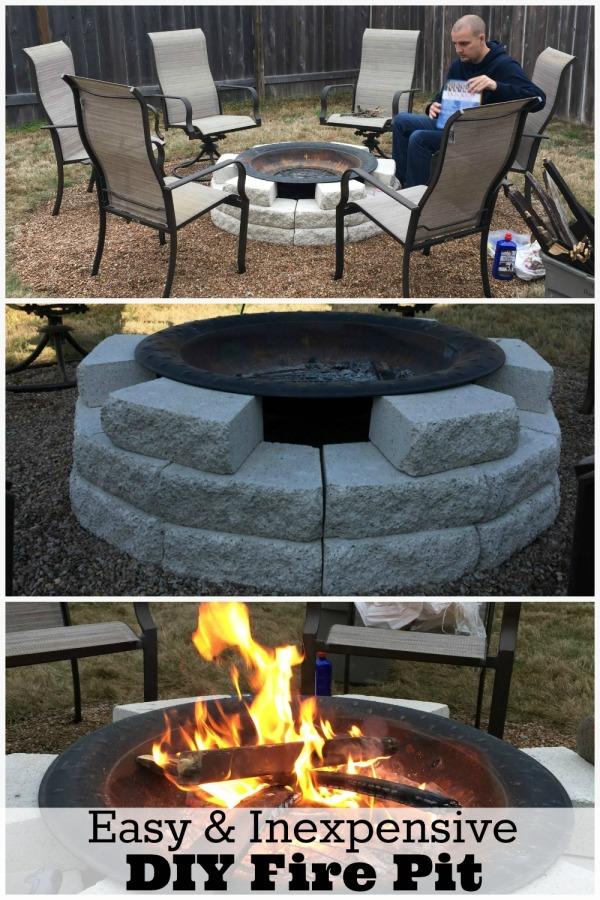 Fire pit ideas plus our own diy fire pit reveal mom fabulous