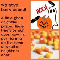 "Time to ""Boo"" the Neighbors!"