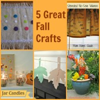 Fall Crafts & Projects