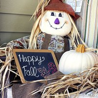 Holiday Craftacular Link Up: Fall Porch Tour