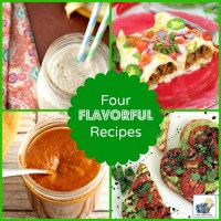 Four Easy & Flavorful Recipes