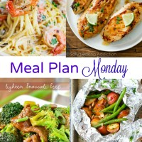 Meal Plan Monday -- Broccoli Beef & Shrimp Scampi