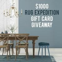 $1,000 Rug Expedition Rug Giveaway