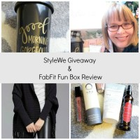 StyleWe Giveaway & FabFit Fun Box Review