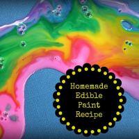 Homemade Edible Paint Recipe