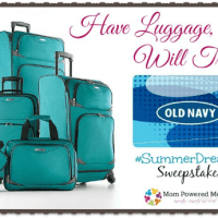 #SummerDreams Have Luggage, Will Travel Giveaway