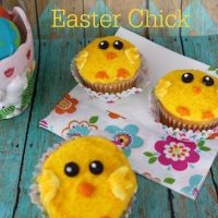 Easter Cupcake Decorating Ideas- Easter Chick Cupcakes