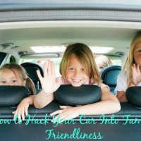 How to Hack Your Car Into Family Friendliness