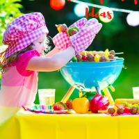 Summer Special Camping Birthday Party Ideas