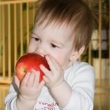 eat apple