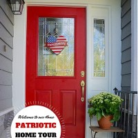 4th of July Decorations  -  Patriotic Home Tour