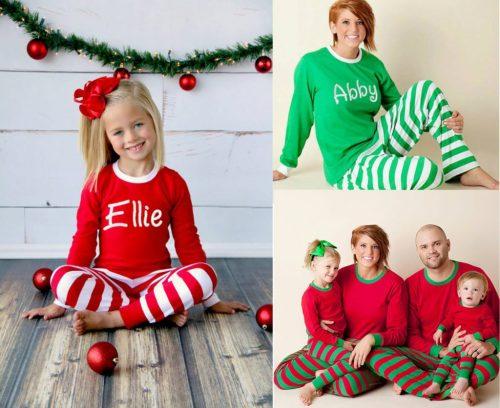 Medium Of Elf On The Shelf Pajamas
