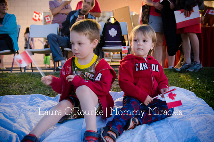Canada Day Fireworks | Mommy Miracles
