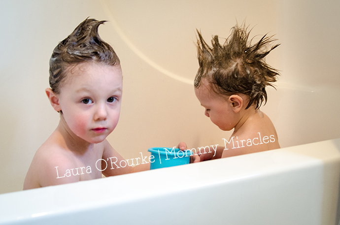 Shampoo in Hair | Mommy Miracles