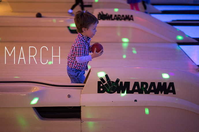 2014 in 12 Photos | March | Mommy Miracles