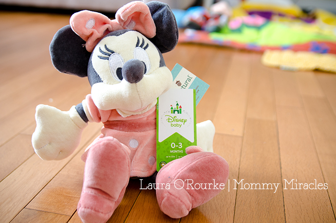 Minnie Mouse Plush Disney Baby Giveaway