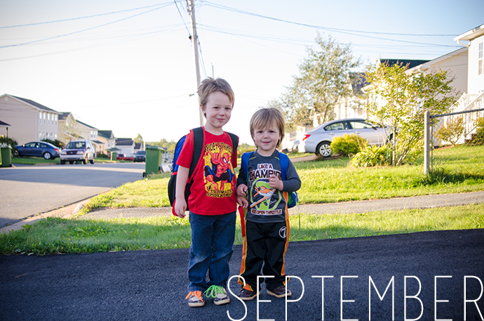2014 in 12 Photos | September | Mommy Miracles