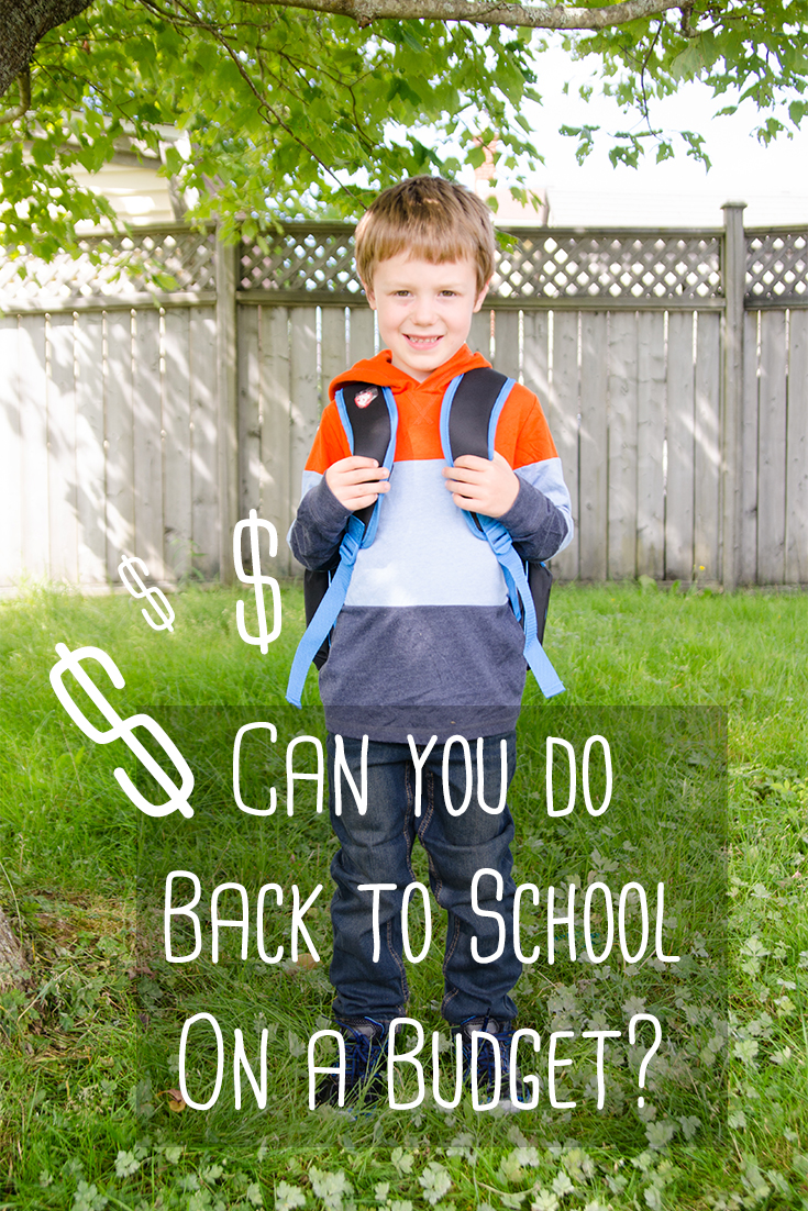 Back to School on a Budget | Mommy-Miracles.com