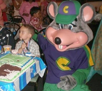 Chuck e cheese party