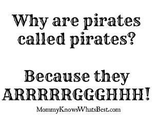 pirate joke, cheesiest jokes