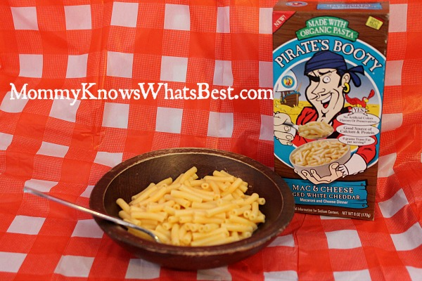 pirates booty mac and cheese