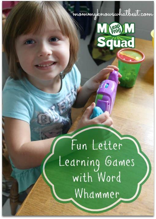Fun Letter Learning Games with Word Whammer