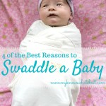 4 of the Best Reasons to Swaddle a Baby, with a Review of the HALO SwaddleSure Adjustable Swaddle Pouch